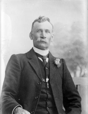 Portrait of a man - McMicken