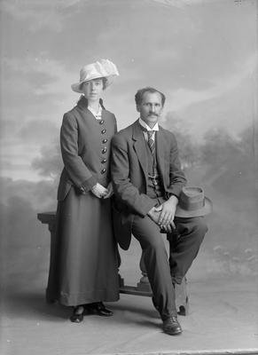 Mr and Mrs McCracken