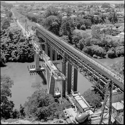 New Railway Bridge under construction