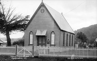 Presbyterian Church at Ngaruawahia
