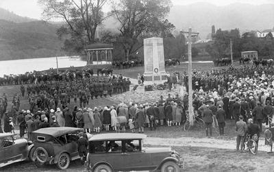 ANZAC Day 1928 in Ngaruawahia