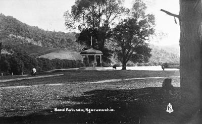 Band Rotunda at Ngaruawahia