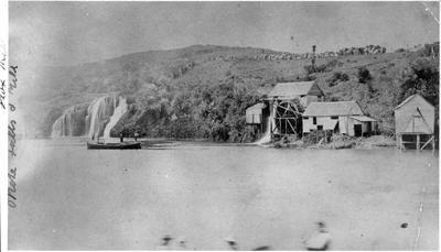 Okete Falls and Mill (neg only)