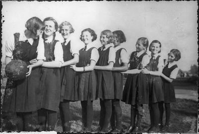 Orini School girls' basketball team