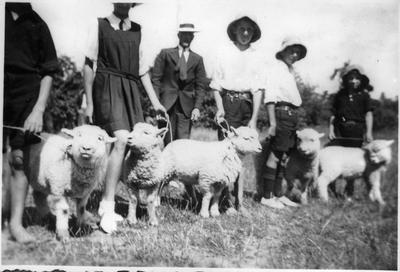 Orini School Calf Club Day 1938