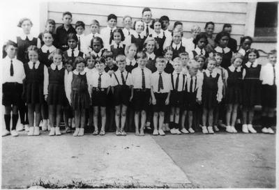 Orini School pupils 1938