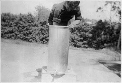 Orini School school milk c. 1939