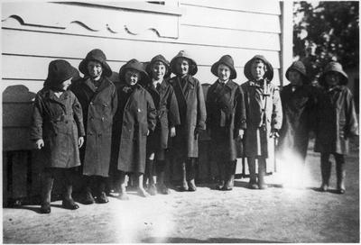 Orini School boys 1940