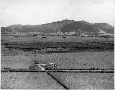 Aerial view of Orini School 1973