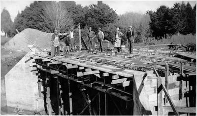 Working on Crockett Bridge 1937-38