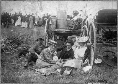 Orini - district picnic, Tauhei 1909