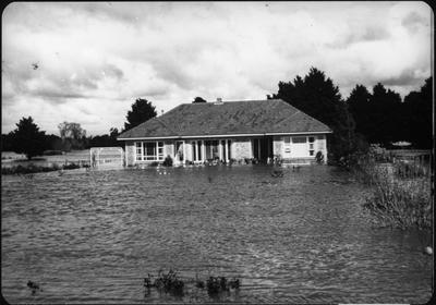 Orini - residential house - flood