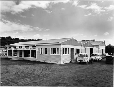 Ellis & Burnand's Otorohanga branch