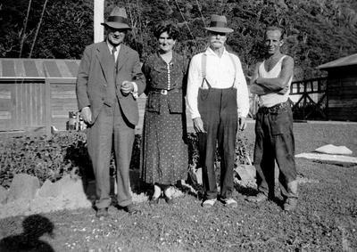Port Waikato Health Camp founders including Hilda Ross