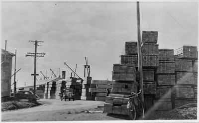 Timber prep for shipment ex Tauranga