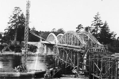 Fairfield Bridge under construction