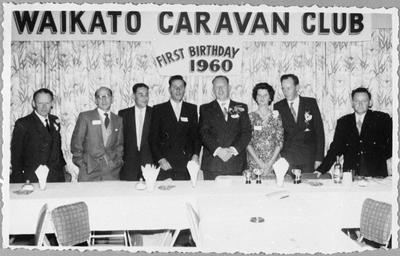 Waikato Caravan Club first birthday celebrations