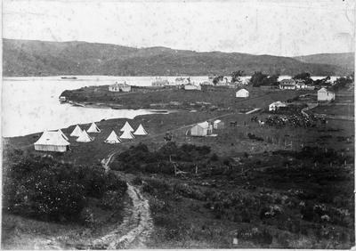 Raglan Military Camp 1887