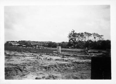 Looking across a new subdivision from Ohaupo Road towards Dinsdale