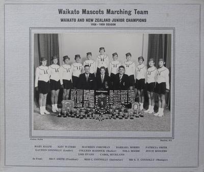 Waikato Mascots Marching Team 1958-59