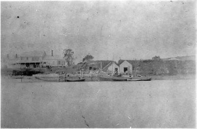 Old wharf Raglan