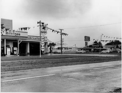 Hillcrest Motors and Abel's supermarket