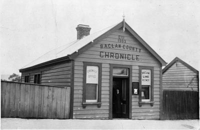 Raglan Chronicle office
