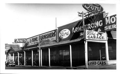 Fow's Home Furnishers and Armstrong Motors Sales and Service