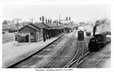 Frankton Junction Railway Station c. 1930