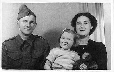 Maurice Pulman and family