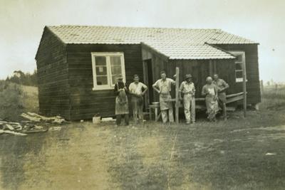 Carpenters' quarters at Wiltsdown