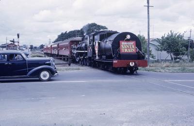 A Santa train