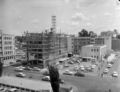 Construction of the T and G building