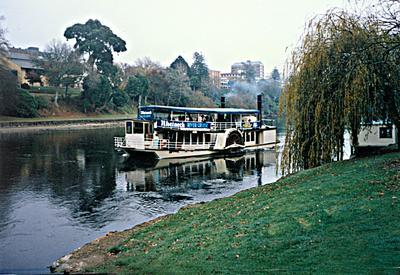 MV Waipa Delta near Memorial Park