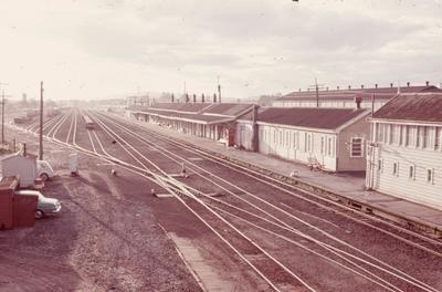 Frankton Railway Station 1975