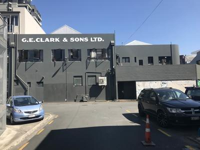 Rear of G.E. Clark & Sons Ltd's Ward Street building