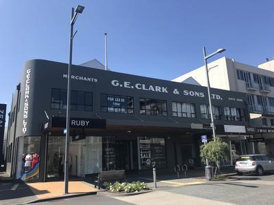 G.E. Clark & Sons Ltd building on Ward Street