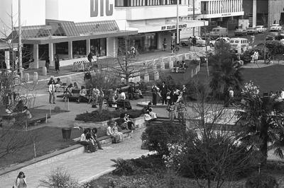 Garden Place in the 1970s
