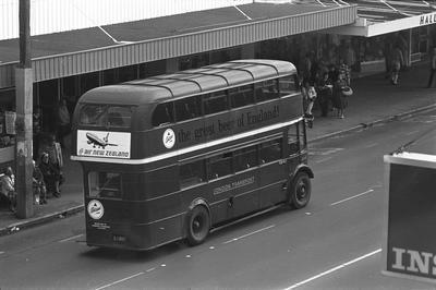 Double decker bus on Victoria Street