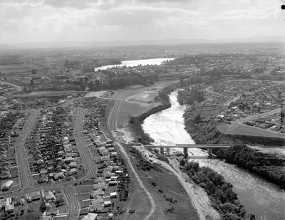 Aerial view of Hamilton