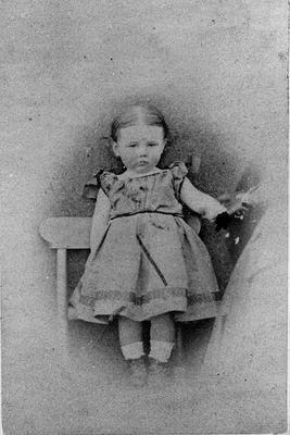 Amy Morris aged 2 - 3