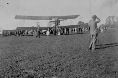 Aircraft at Rukuhia
