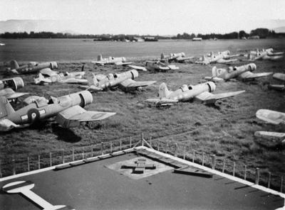Fighter planes at Rukuhia