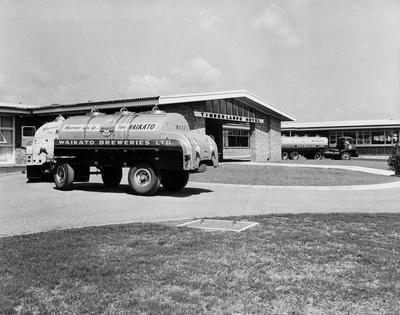Waikato Breweries tankers