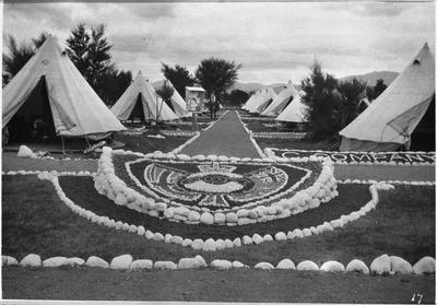 C Company camp at Tauherenikau 1918