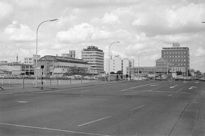 Hamilton's CBD as seen from Anglesea Street