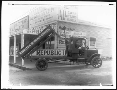 Hamilton Borough Council Truck
