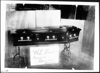 Coffin from W. E. Burrow