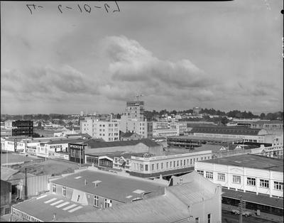 Aerial view - Cnr Victoria Street and Ward Street