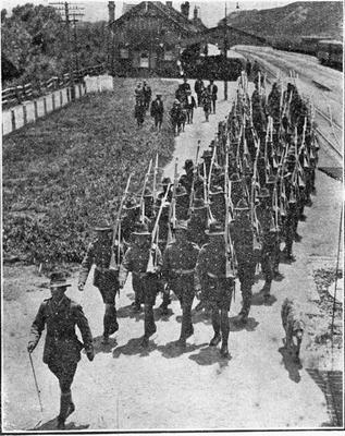 World War One - Mercer meeting to gain Maori recruits